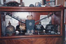My Old Pickelhaube and Iron Cross Collection 1995 forum.jpeg